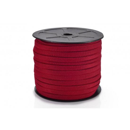Elástico Diagonal 8mm 2060 - Vermelho Rolo c/ 50 Metros