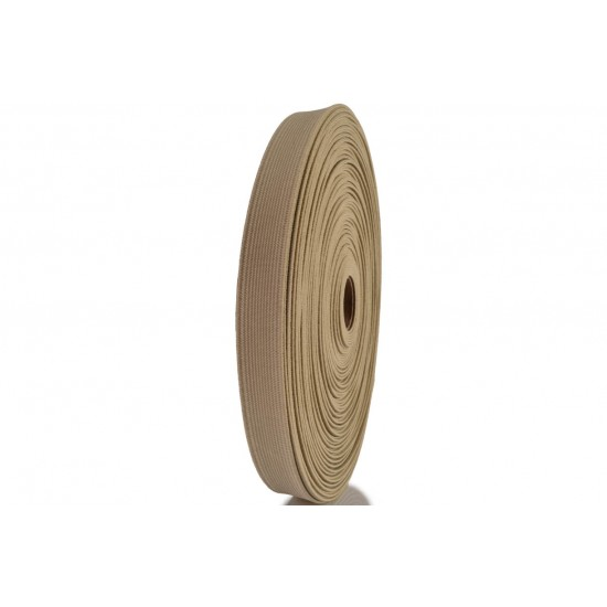 Elástico EPTL 20mm 6928 Bege Rolo c/ 50 Metros