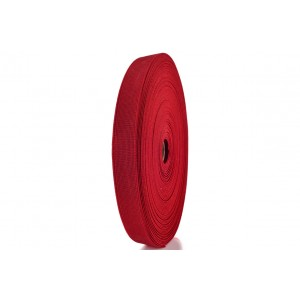 Elástico EPTL 25mm 2060 - Vermelho Rolo c/ 50 Metros