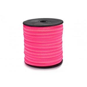 Elástico EPTL 6mm Pink flour c/ Lurex - 50 Metros
