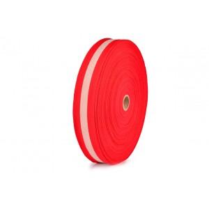 Fita FP 13 40mm 2900.6900 Vermelho / Branco c/ 25 Metros